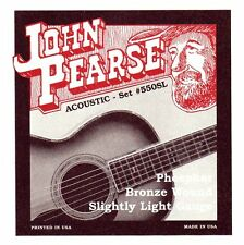 John Pearse GR59020 Corde per Chitarra, Phos S. Light (Q5U)