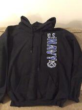 US Navy Sweatshirt Hoodie Logo Gildan Large 205