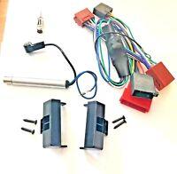 Radioblende Set für Audi A4 B5 8D Aktivsystemadapter Phantomseinspeisung Antenne