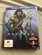 Aquaman (Blu-ray+Dvd+Digital, 2019; Only @ Best Buy Exclusive Steelbook) New