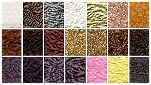 8/0 6-STRAND (1/2 hank pack) Czech Seed Beads #00050-37100