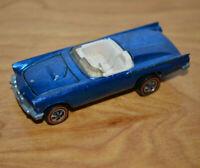 Vintage HOTWHEELS REDLINES CLASSIC 57 T-BIRD Die-cast Toy Car BLUE 1969