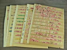 US, Excellent Accumulation of Revenue Stamps in stock pages
