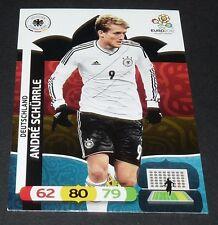 ANDRE SCHÜRRLE ALLEMAGNE DEUTSCHLAND FOOTBALL CARD PANINI UEFA EURO 2012