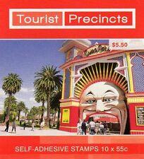 2008 AUSTRALIAN STAMP BOOKLET TOURIST PRECINCTS LUNA PARK 10 x 55c STAMPS MUH