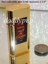 VINTAGE MUST DE CARTIER PERFUME BOTTLE CLASSIC ORIGINAL OLD FORMULA 0.13 NEW NOS