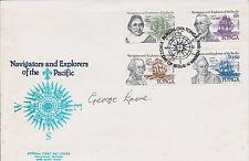 1953 EVEREST Climber George LOWE SIGNED Tonga FDC AFTAL Autograph COA Explorer