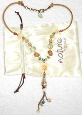 NATURE BIJOUX collier avec pendentif long TBE