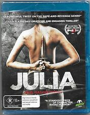 Julia Blu Ray New (A Monster Pictures Film) Region B Free Post