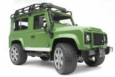BRUDER Land Rover Defender 1/16 Toy Car - Green (02590)