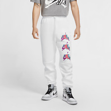Jordan Jumpman Classics Men's Fleece Trousers Casual Pants White [CK6739-100]