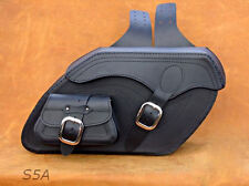 High Quality Leather Saddlebags panniers cases for Harley Davidson Softail model