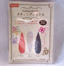 DAISO JAPAN  Handcraft Tatting Shuttle 3Pcs From JAPAN