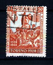 ITALIA - Regno - 1928 - 400° nascita di Emanuele Filiberto e 10° Vittoria - 50 c