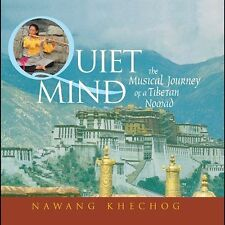 Quiet Mind CD The Musical Journey of a Tibetan Nomad MINT Nawang Khechog RARE