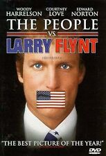 The People Vs. Larry Flynt (DVD, 1997, Keep Case Closed Caption Subtitled French