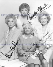 THE GOLDEN GIRLS CAST SIGNED AUTOGRAPHED 8x10 RP PHOTO 4 BETTY WHITE BEA ARTHUR