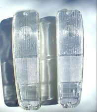 Ford Pick Up Van Or Bronco Clear Tail Lights Complete New Pair