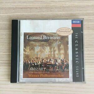 Bernstein - Mozart Symphnony n°36 Linz Piano Concerto n°15 - CD Decca
