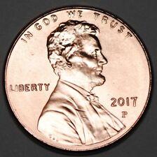 United States 2017 P 1 Cent Lincoln Shield Cent BU USA Penny UNC KM# 468