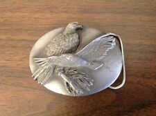 Nice Collectible Pewter SISKIYOU 1990 EAGLE BELT BUCKLE