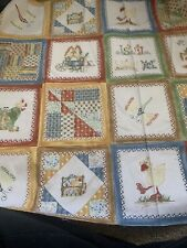 "Tenderberry STITCHES Northcott ""Is It Spring Yet ?"" QUILT FABRIC - 30"" (389)"