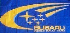 Subaru World Rally Team Flag 1500mm x 900mm (of)