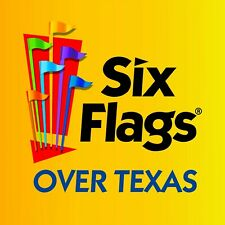 SIX FLAGS OVER TEXAS Adult Ticket, One day Admission, see terms in listing