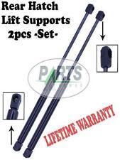 2 REAR HATCH TRUNK LIFT SUPPORTS SHOCKS STRUTS ARMS PROPS RODS DAMPER HATCHBACK