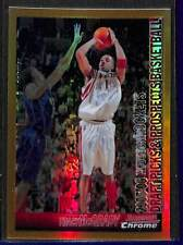 2005-06 Bowman Chrome Basketball Gold Refractor #70 Tracy McGrady No 16 of 50