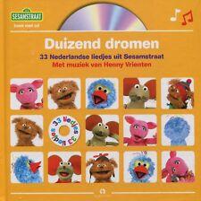 Sesamstraat : Duizend dromen - 33 Nederlandse liedjes uit Sesamstraat (Boek & CD
