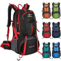 Waterproof Outdoor Hiking Backpack Camping Mountaineering Bag Sport Daypack US