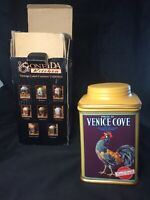 ONEIDA CANISTER  Vintage Label Collection Pride of Venice Cove Kitchen Rooster