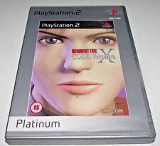 Resident Evil Code Veronica X PS2 (Platinum) PAL *Complete*