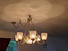 Kitchen/Dining Room Chandelier lighting With Gold Accents