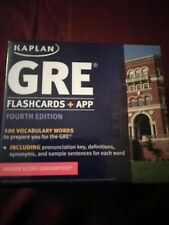 Gre flash cards and app