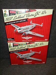 #24 WINGS OF TEXACO 1937 LOCKHEED 12A ELECTRA JR AIRPLANE REG & SPECIAL NEW