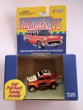 1999 Johnny Lightning Thunderjets VW BAJA BUG, Orange, Pink, White, Volkswagen