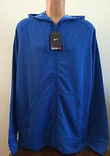 $75 Mens Size XL Blue Nike Dri-Fit Full Zip Hoodie Sweatshirt Jacket 588639 480