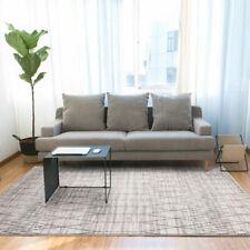 Modern Weave Large Geometric Morrocan Floor Rug 200 x 290cm - Beige