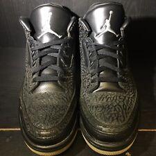 Air Jordan 3 Black Flip Size 13