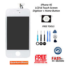 WHITE Retina LCD & Digitiser Touch Screen Assembly Replacement For iPhone 4S NEW