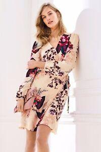 NEXT ladies blush mix floral print dress (delabelled)