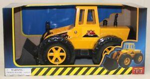 NEW STEEL RODER FRONT LOADER TRUCK 44CM METAL TRUCK TOY 3963