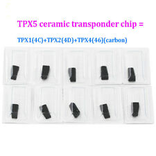 10pcs Ceramic TRANSPONDER cloner JMA TPX5 CHIP = TPX1(4C) + TPX2(4D) +TPX4(46)