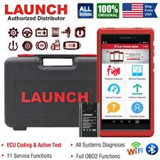 LAUNCH X431 Pros Mini V+ OBD2 Scanner Diagnostic Tool Actuator Test Key Coding