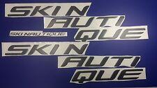 "SKI NAUTIQUE boat Emblem 60"" Black + FREE FAST delivery DHL express"
