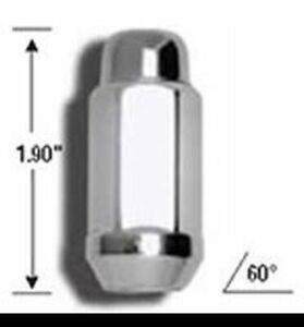 "Gorilla Lug Nuts Kit 14-1.50 Thread, 3/4"" (19mm) Chrome 41147XLB"