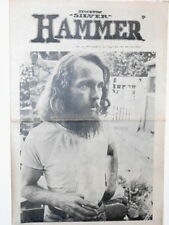 Newspaper Underground Stockton CA Silver Hammer Peace Hippies Pot Labor 1970