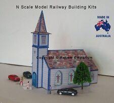 N Scale Church Model Railway Building Kit - NSC1